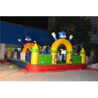Durable Inflatable Water Games Of Inflatable Bouncing Slide Yellow Manufactures