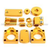 Quality Aluminum Alloy MX Bling Kit Gold Blue For Motocross Bikes Suzuki RMZ 250 450 for sale