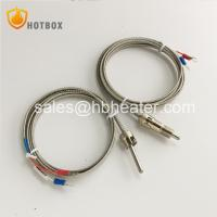 China PT100 Stainless Steel High Temperature Sensor K E Type Thermocouple for Plastic Extruder Die Head Extrusion Machine on sale