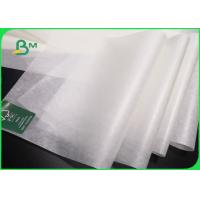 Buy cheap Oil Proof Greaseproof Paper Roll / Food Grade White Baking Paper With Logo from wholesalers