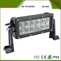 36w 7 Inches Double Row LED Headlight Light Bar for Motorsport Rally Car, Snowmobile, ATV Manufactures