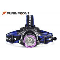 Quality 10W Rechargeable Outdoor LED Headlamp, 3 Light Modes 1000LM Bike Headlight for sale