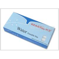 Non-Toxic Pp White Water Erasable Markers Suitable For Dark Color Fabric Easily Removed By Water #WW10 Manufactures