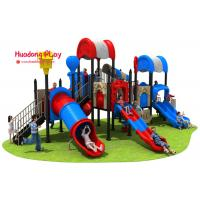 High Creativity Outdoor Playground Slides Durable UV - Resistant Security for sale