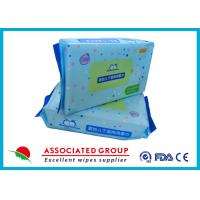 Soft Baby Dry Disposable Wipes For Cleaning Body & Hand 60pcs / Bag Manufactures