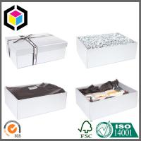 High Quality Chipboard Gift Packaging Box with Cushion Insert; Paper Gift Box Manufactures