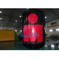 Outdoor Activity / Event Cylindrical Inflatable Marker Buoys Customized Logo Manufactures