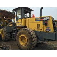 187hp Second Hand Wheel Loaders WA380-3 , Komatsu Compact Wheel Loader 3.2cbm Manufactures