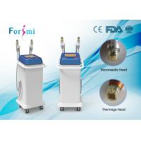 Advance 25Pins, 49Pins, 81Pins changeable microneedle fraction rf skin tightening machine Manufactures