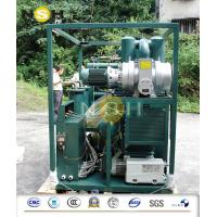 Mobile Transformer Oil Purifier / Oil Filtration Plant With Fully Aluminum Closed Doors Manufactures