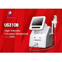 2 In 1 Hifu Facelift Machine 5 Cartriges For Wrinkle Removal / Body Slimming for sale