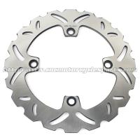 Stainless Steel Motorcycle Brake Disc Wheel Disc Brakes HORNET 600 Heat Treatment 6 Holes Manufactures