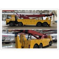 Buy cheap Diesel fuel Max. Speed 90km/h VOLVO brand chassis Road Wrecker 2 pieces of winch from wholesalers