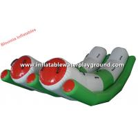 Durable Aqua Park Toys Inflatable Teeter Totter Water Fun Sports Equipment Manufactures
