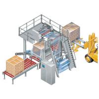 Tubular Film Stretch Hood Machine For Wrapping Boxed Products Pallets Packaging Manufactures