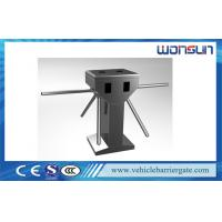 China Full - auto / Semi - auto Vertical Turnstile Entry Systems With Double Motor on sale
