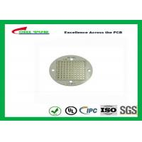 Single-side Aluminum Core LED Light PCB Board 1.6mm Immersion Gold Manufactures
