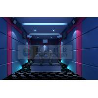 9 seats Mini 5D Movie Theater with special effect system , Snow Bubble Rain Lighting Manufactures