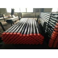 ISO Water Drilling Pipe , Drill Extension Rod For Different Geological Conditions Rock Drill Rods Manufactures
