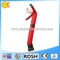 Red Inflatable Air Dancer Santa For Christmas Event Or Advertising Manufactures