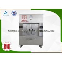 Silvery / Black Stainless Steel 2 Spaces Electric Fish Grill Machine 380V / 10.8KW Manufactures