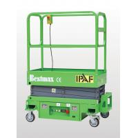 Buy cheap Max Working Height 5.9m MINI Manual Pushing Mobile Scissor Lift with Loading Capacity of 240kg from wholesalers