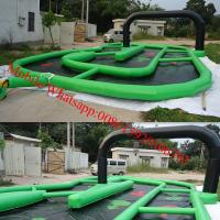 inflatable race track for sale Manufactures