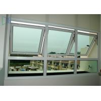 Single / Double Glazed Awning Windows , Powder Coating Vertical Awning Windows Manufactures