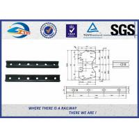 Forged Railroad Rail Fish Plate Joint Bar With 4 Holes or 6 holes Manufactures