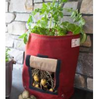 Multi Color Plant Grow Bags Gardening Non - Woven Material Customized Volume Manufactures