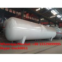 Buy cheap 2018s customized high quality 55,000Liters bullet stationary surface propane gas storage tank for sale, lpg gas tank from wholesalers