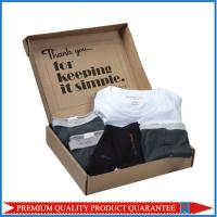 Inside Custom Print Logo Slogan Corrugated Cardboard Shipping Mailing Box Manufactures