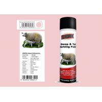 Light Pink Color Animal Marking Paint Spray For Cattle 8 - 15 Min Tack - Free Manufactures