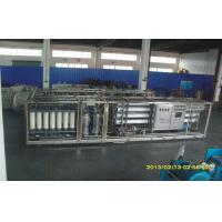 Quality Mobile RO Seawater Reverse Osmosis Desalination Equipment , Water Purifier for sale