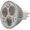 GU10 MR16 DC 12V / 24V Dimmable LED Ceiling Light 3 X 1W high effciency for decoration Manufactures
