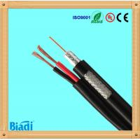 rg59 coaxial cable with 2 power wire for cctv satellite Manufactures