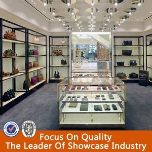 High End Wood Flooring Metal Stainless Steel Display Rack Manufactures