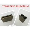 Electrophoresis Matte Or Flat Bronze Aluminum Window Profiles Length Shape Customized Manufactures