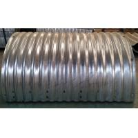 900mm Diameter Corrugated Steel Pipe Culvert 3mm Thickness 68*13mm corrugation Manufactures
