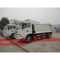 Dongfeng 4*2 RHD 12-14m3 compacted garbage truck for sale, Factory sale best price 10tons compress garbage truck Manufactures