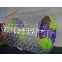 Quality Outdoor Super Fun Inflatable Water Wheel And Water Roller For Walking for sale
