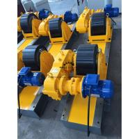 Heat Exchanger Production 20T Tank Turning Rolls Heavy Duty Gearbox Double Driving Manufactures