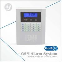 Quad-band Pstn Home Gsm Security Alarm System DC12V 1A , LCD Display Manufactures