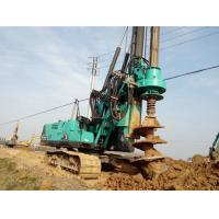 Durable Mobile Pile Driving Equipment Max Torque 80kNm KR80K Rotary Piling Rig Machine Manufactures