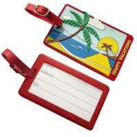 Personalized Pvc. rubber, silicone, plastic luggage bag tags accessories Manufactures