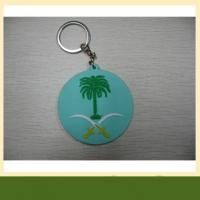 PVC Tactical Custom 3D keychain Hook Backed Morale PVC keychain Manufactures
