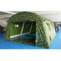 Quality Wind Resistant Camouflage Inflatable Tents Large For Military / Army SGS for sale