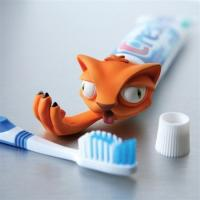 FDA Food Grade Spread Heads Toothpaste Caps , Toothpaste Cap Replacement Owl Spread Heads Manufactures
