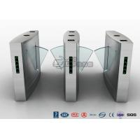 Waist Height Turnstile Access Control Automatic Flap 12V DC With Ticketing System Manufactures