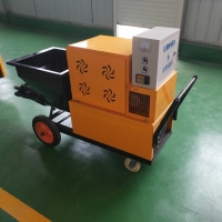 220V/380V Wall Plaster Spray Machine Cement Mortar Spraying Machine For Wall Building Manufactures